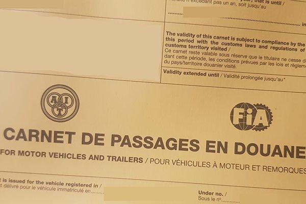 What is a carnet de passage (cdp)