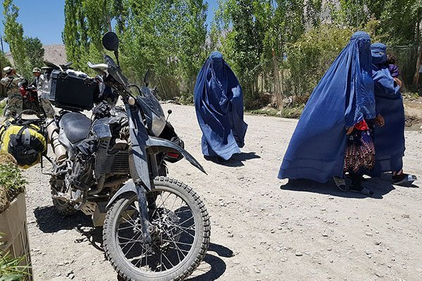 adventure motorcycle travel guides for Afghanistan