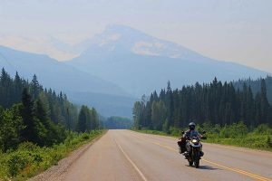 Canada motorcycle travel