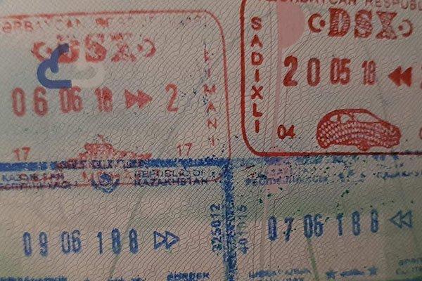 azerbaijan paperwork information for motorcycle travellers