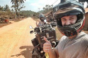 Motorcycle adventure travel Cambodia