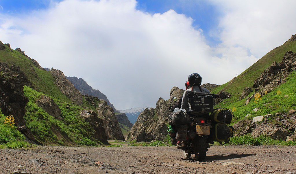 Adventure Motorcycling in the Pamir Mountains