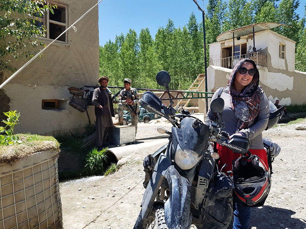 Adventure biking in Afghanistan