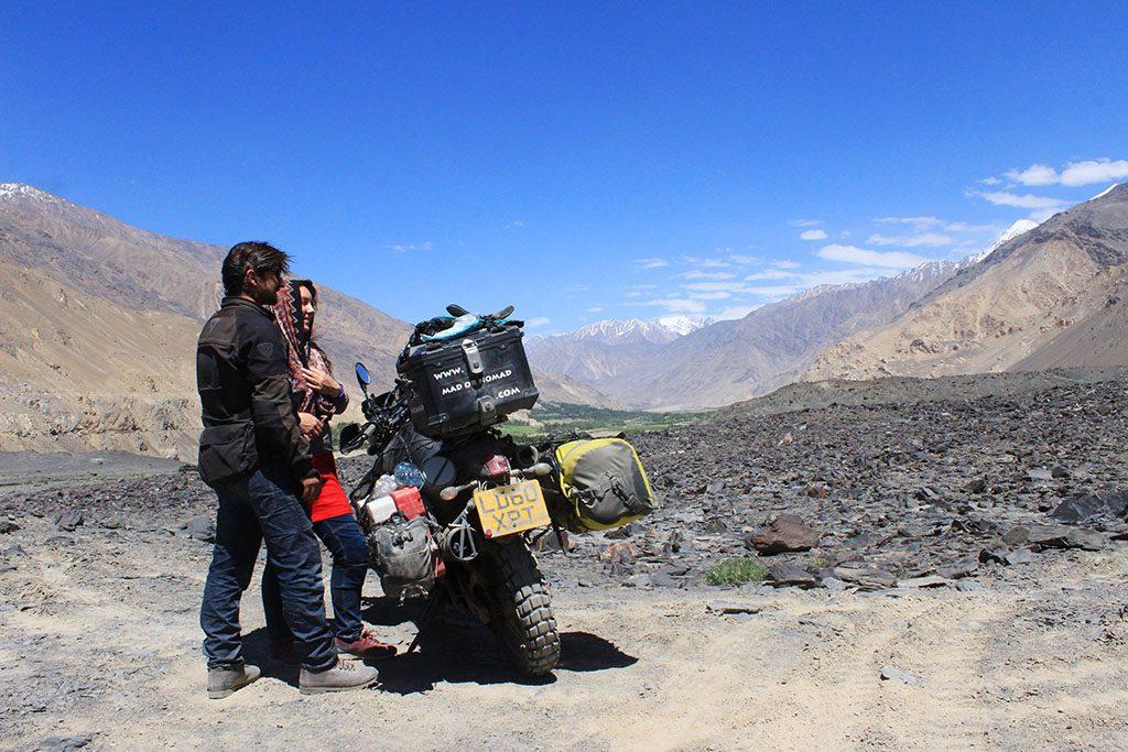 Adventure bike riding in Wakhan Corridor