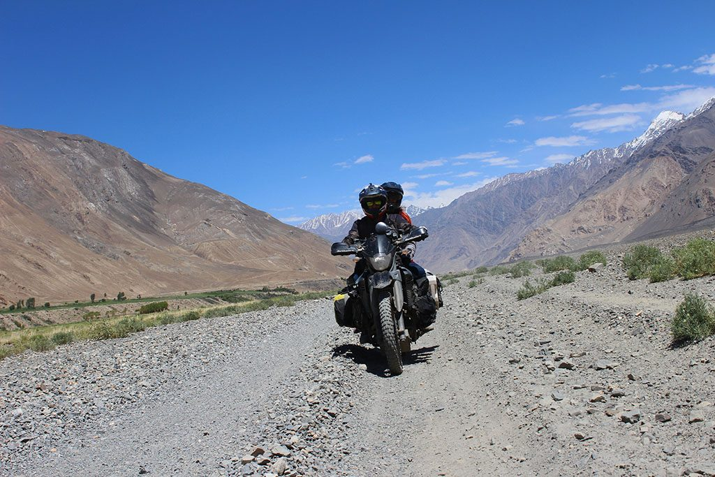 Mad or Nomad adventure bike riding in Wakhan Corridor