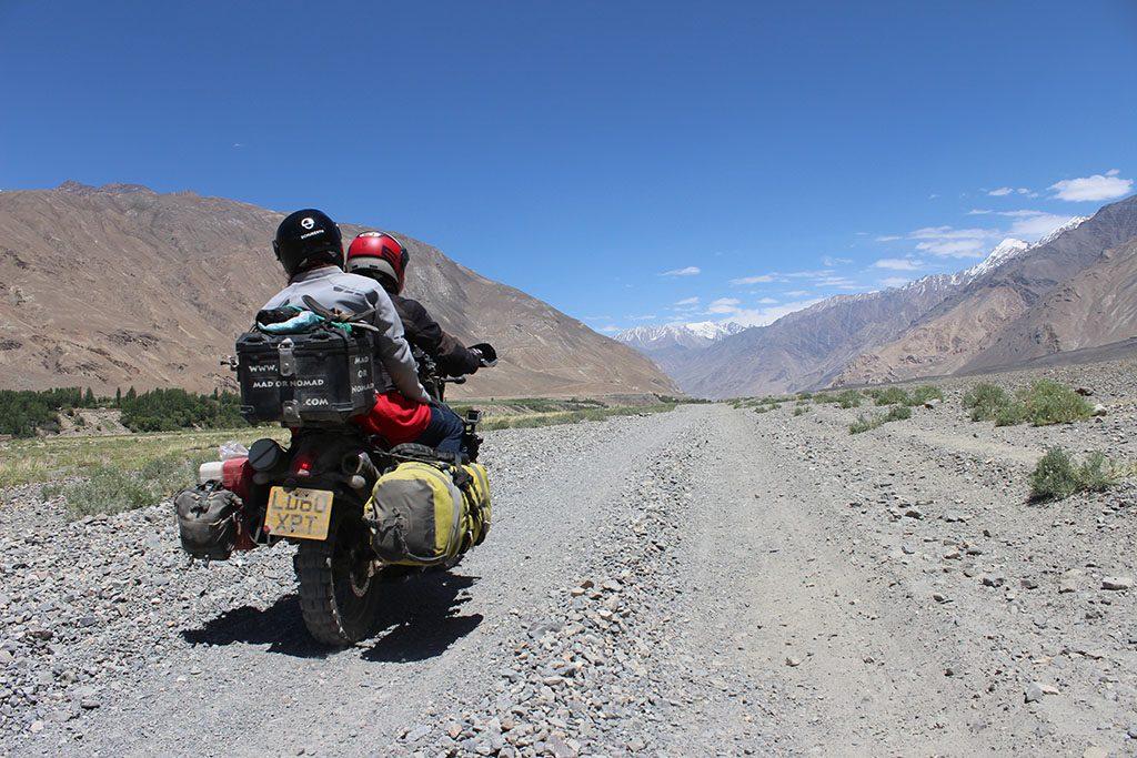 motorcycle travel Wakhan Corridor