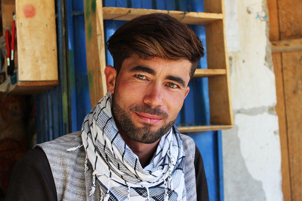 Handsome Afghan man