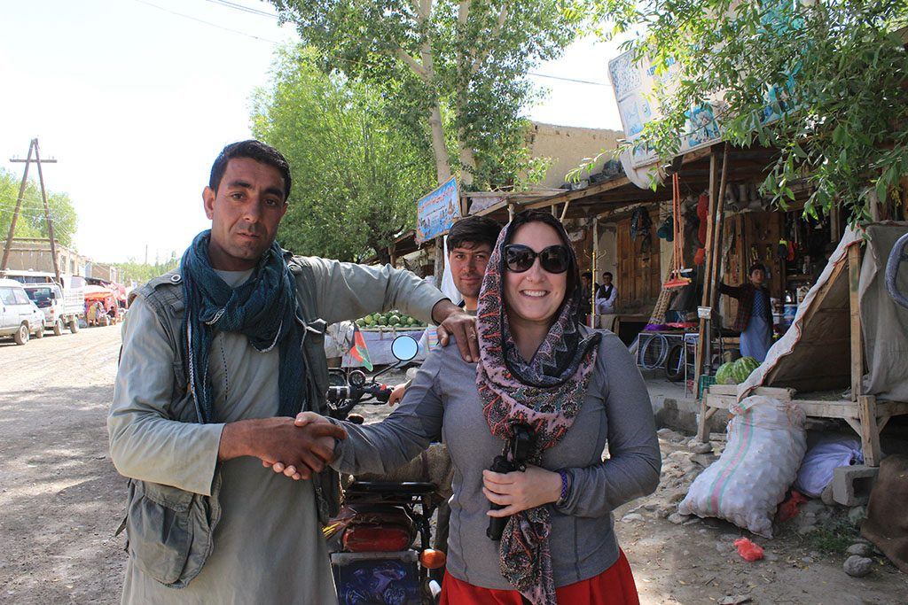 Meeting the locals in Afghanistan