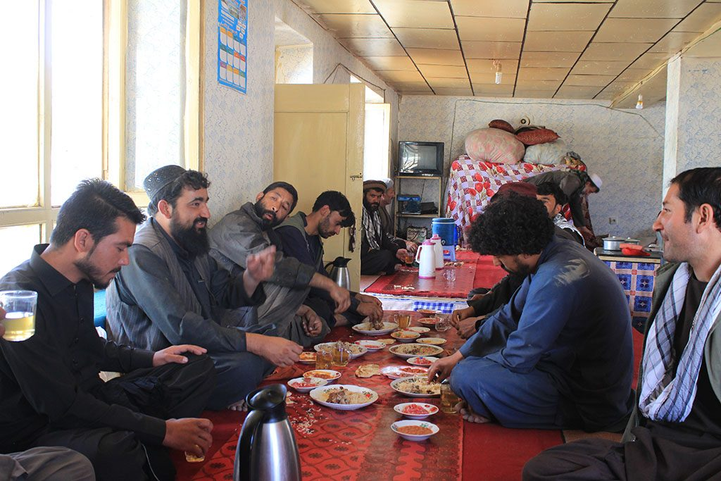 Traditional Afghan restaurant