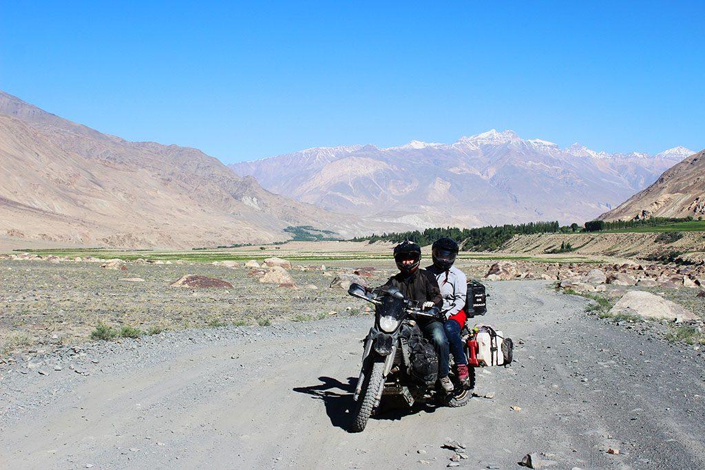 Biking in Afghanistan