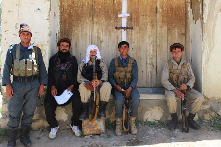 Afghanistan soldiers in Wakhan