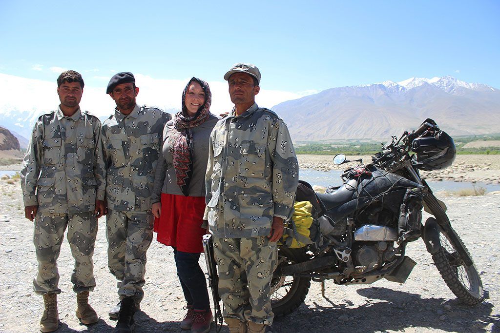 Motorcycling in Afghanistan