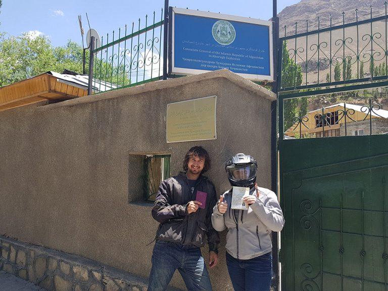 Afghanistan visas