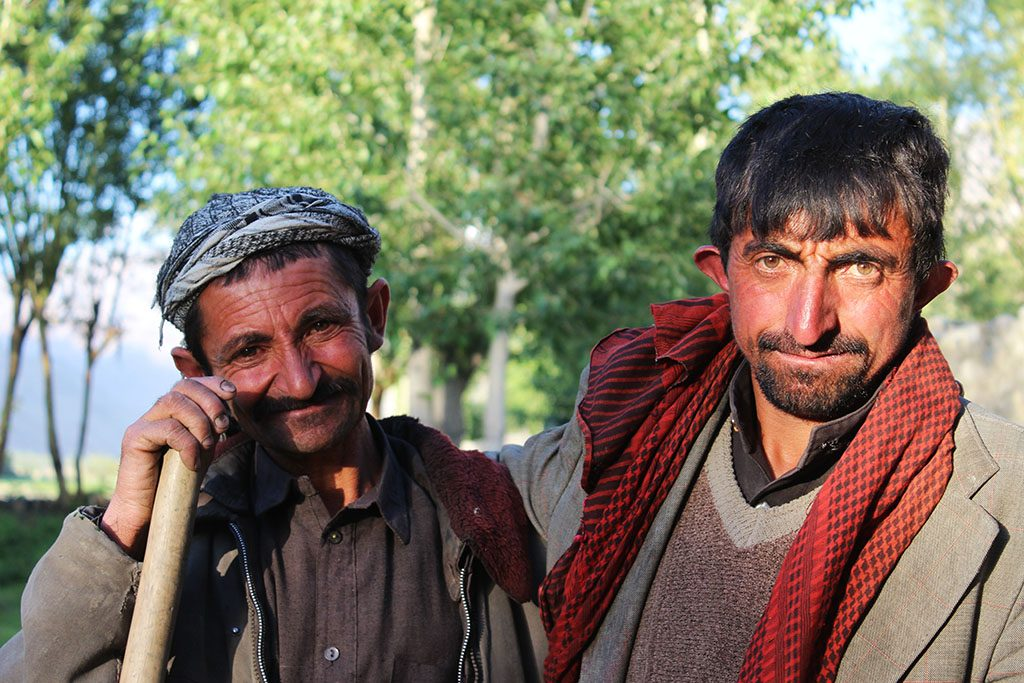 Afghan locals