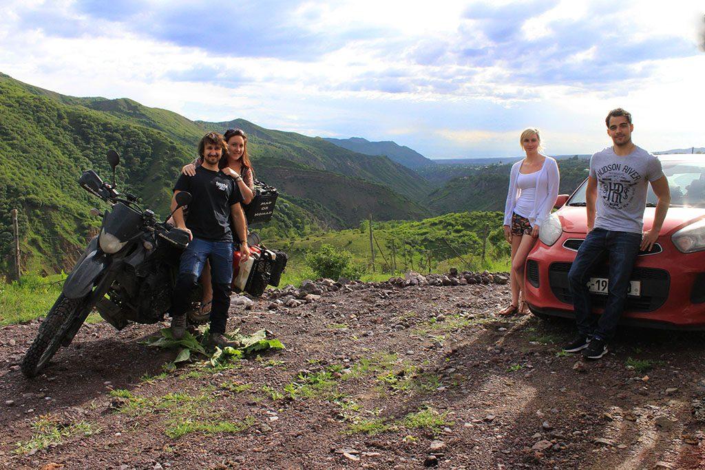 Adventure motorcycle travel in Armenia