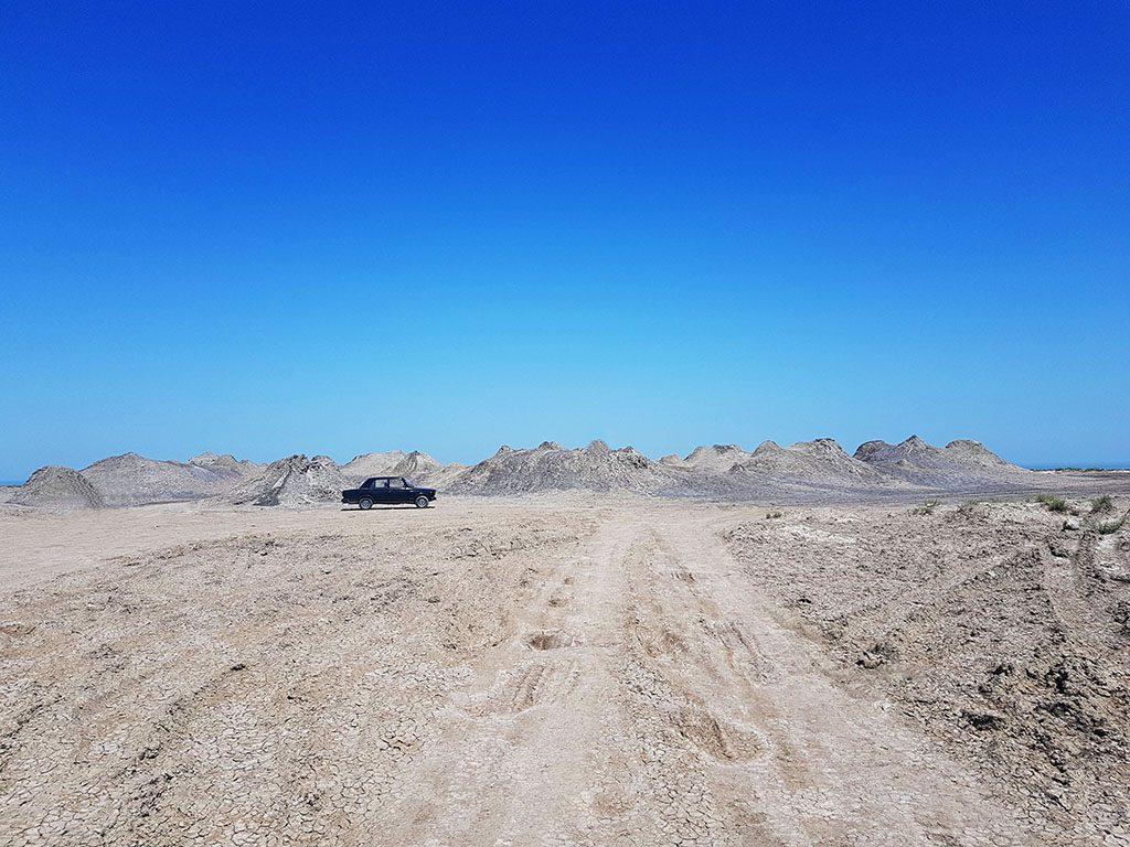 Mud volcanos Azerbaijan