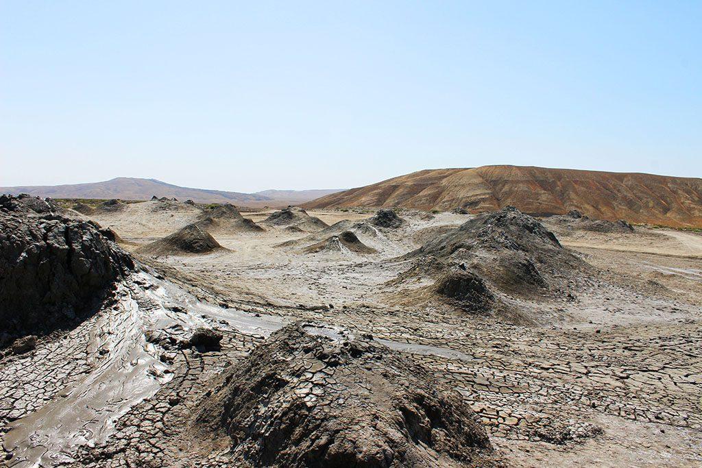 Mud volcano guide Azerbaijan