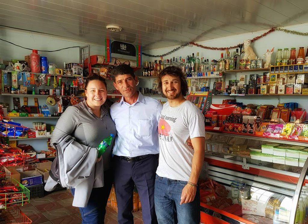 Azerbaijan friendly locals