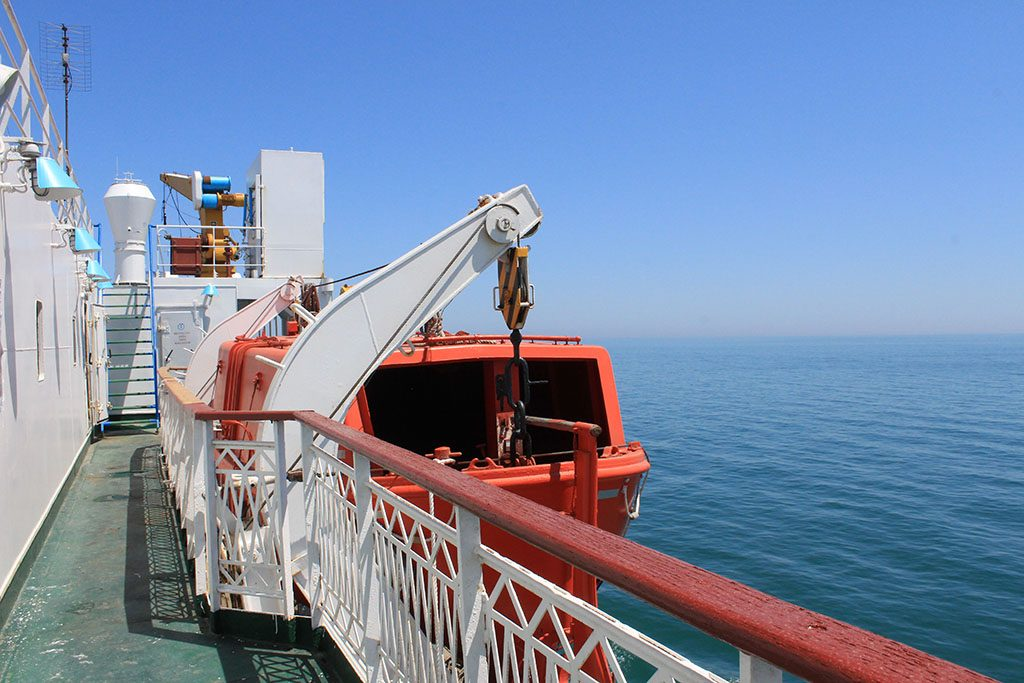 Guide to crossing the Caspian Sea by ferry
