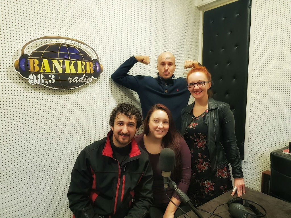 On Banker Radio in Serbia