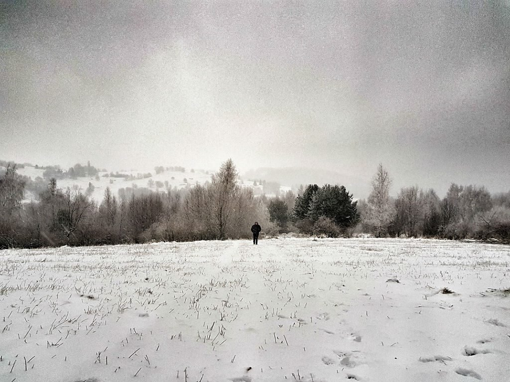 Cold weather in Slovakia