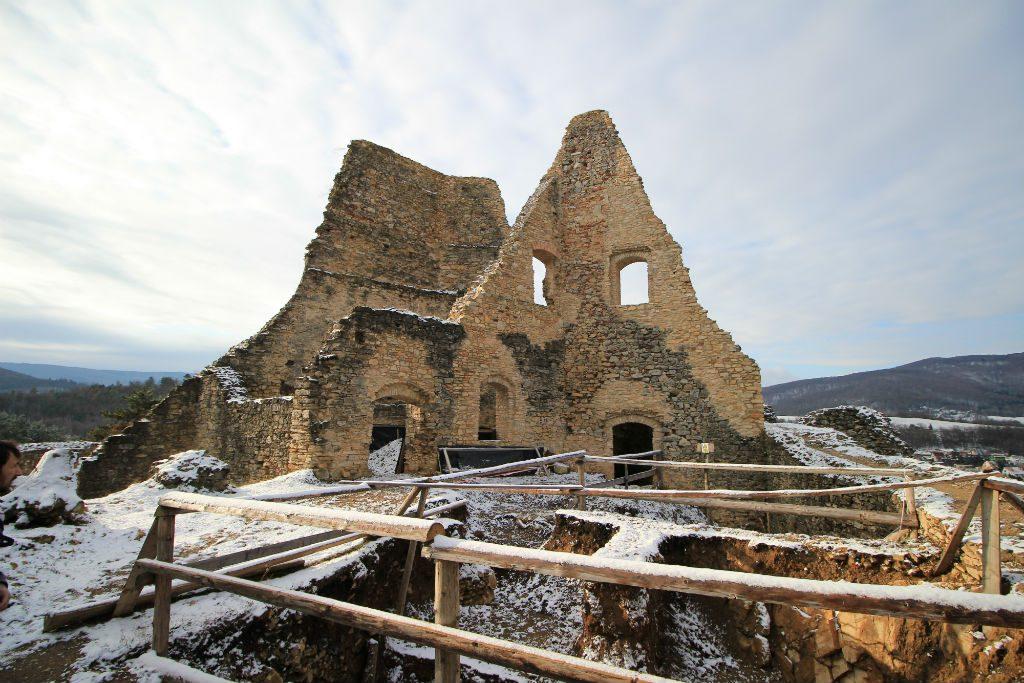 Ruins of Slovakian Castle