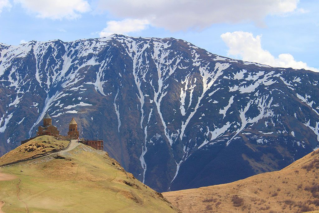 Gergeti Trinity Church Kazbegi Georgia