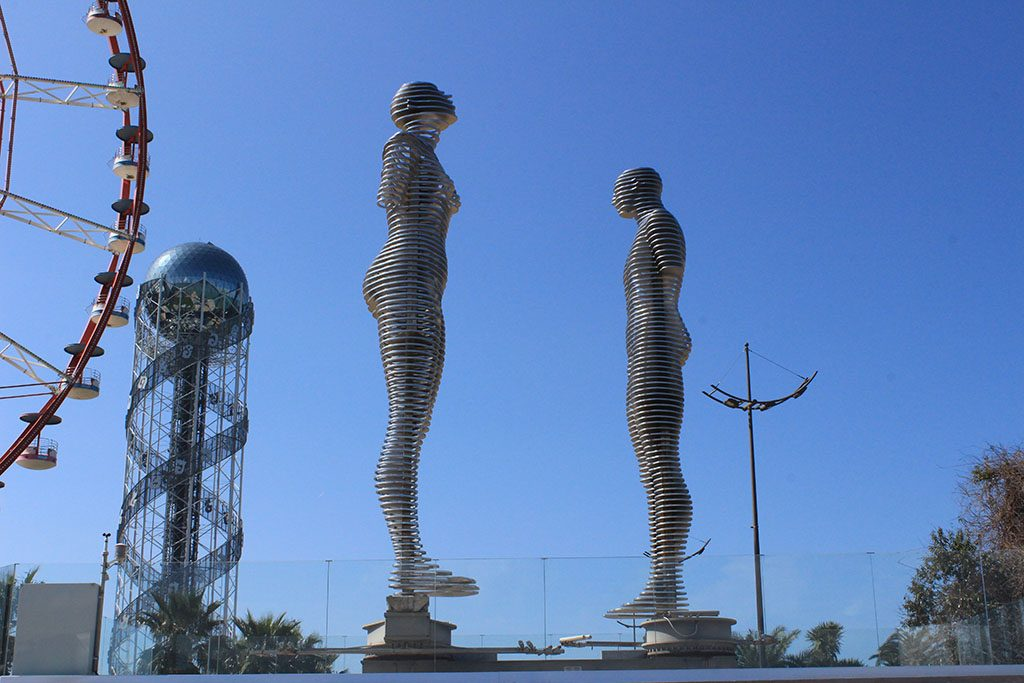Batumi statues