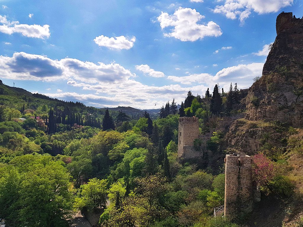 Gardens in Tbilisi