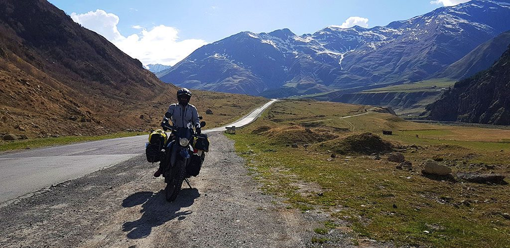 Adventure motorcycling in Georgia