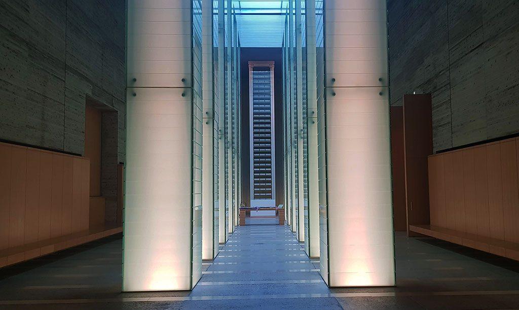 Hiroshima remembrance hall