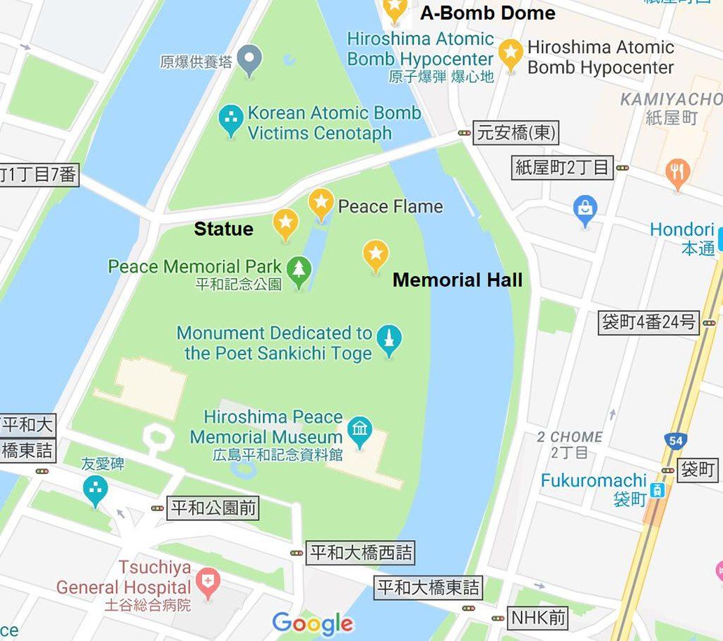Hiroshima Atomic Bomb museum guide