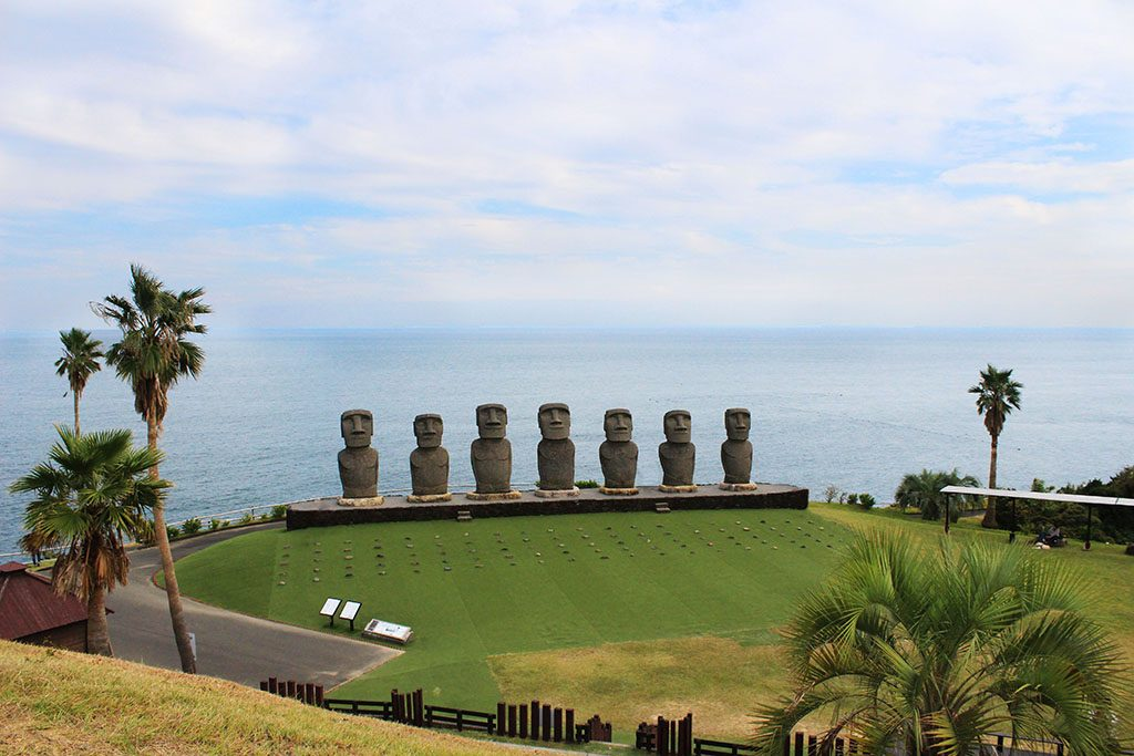 How to visit the Moai statues at Japan's easter island