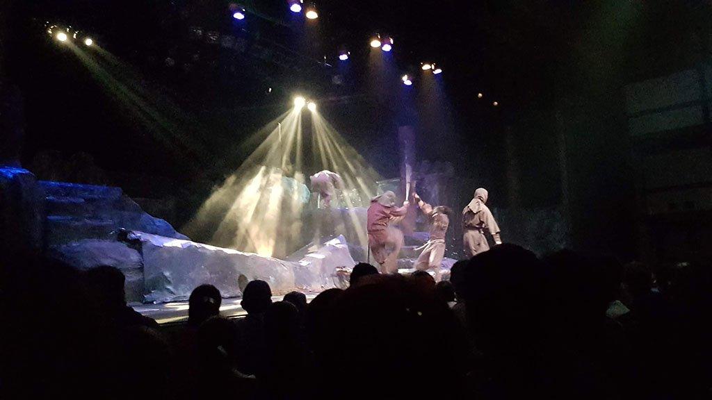 Ninja show at Edo Wonderland Japan