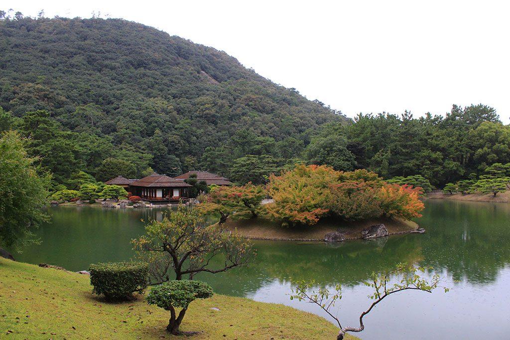 Ritsurin Garden in Japan