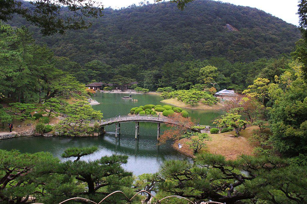Japan's most loved garden is Ritsurin Garden
