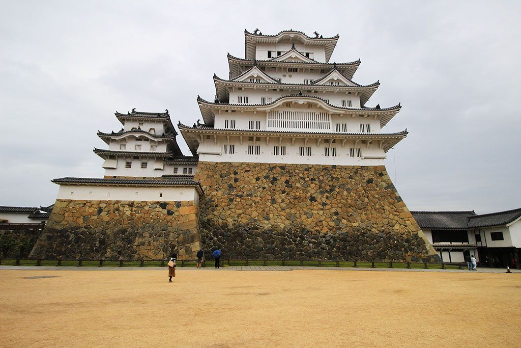 Himeji Castle is massive