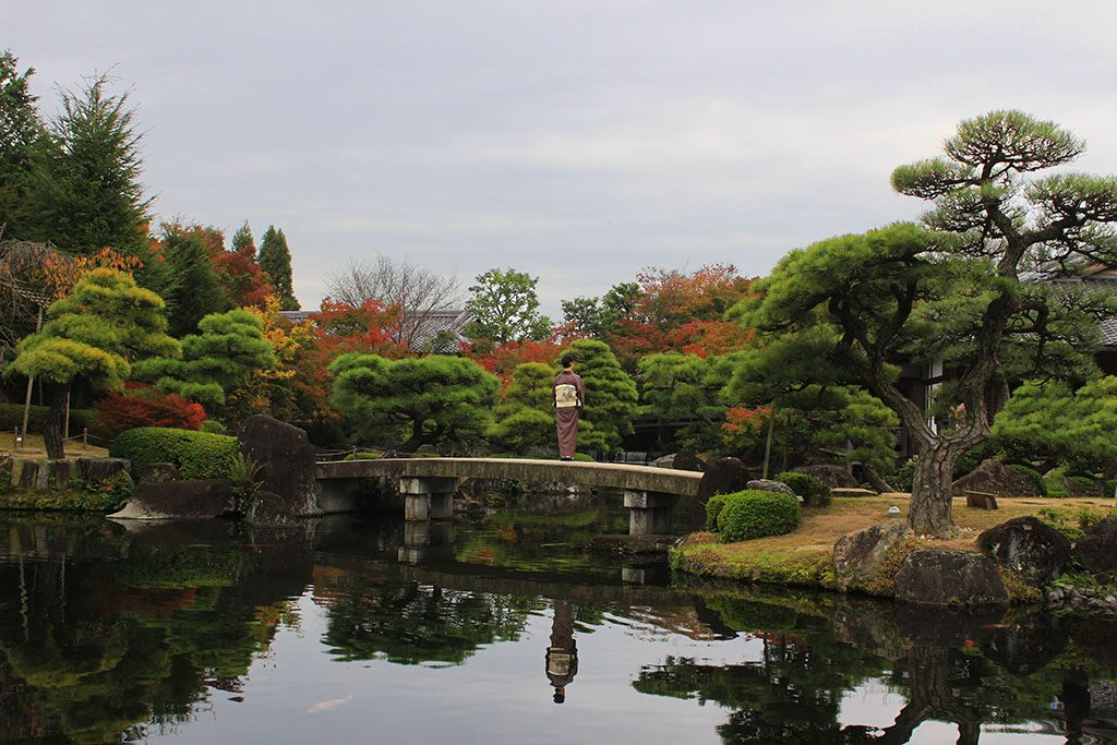 Himeji Castle gardens
