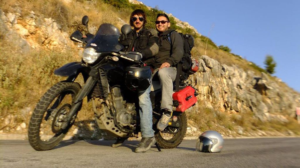 Andy and Miles motorcycle adventure into Balkans and Croatia