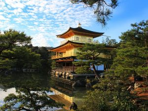 Golden Temple in Kyoto Japan