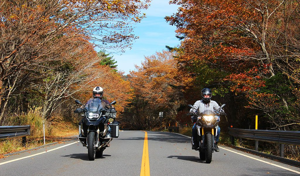 How to ride motorbikes in Japan