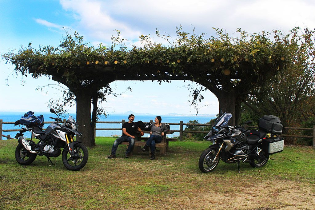 BMW R1200GSA and G310GS Japan touring guide