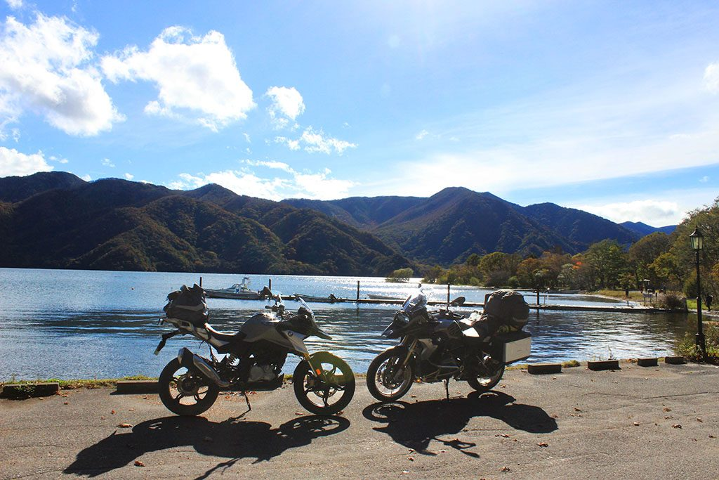 BMW R1200GSA and BMW G310GS in Japan