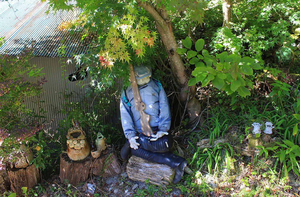 Nagoro scarecrow policeman
