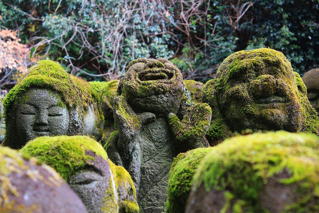 The Otagi Nenbutsu-Ji temple laughing Buddha in Kyoto Guide