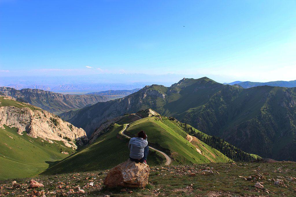 Kyrgyzstan motorcycle travel