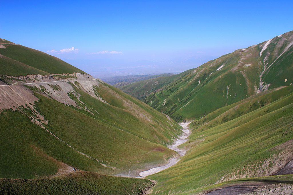 Scenery in Kyrgyzstan