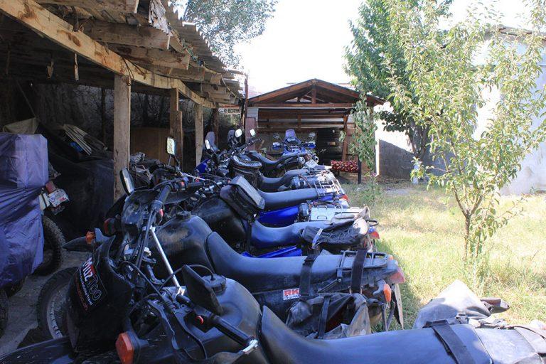 Rental motorbikes in Osh Kyrgyzstan guide