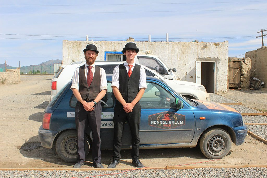 Mongol Rally through Mongolia 2019