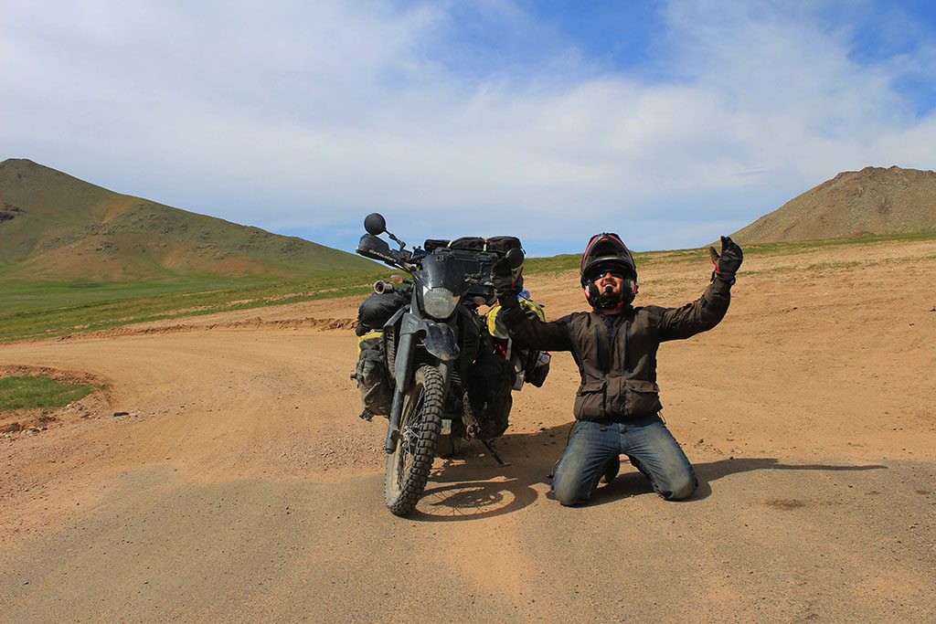 Going mad off-roading in Mongolia